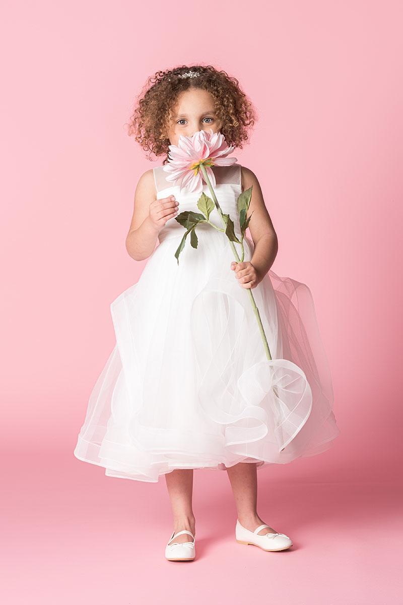 Kinderbruidskleding